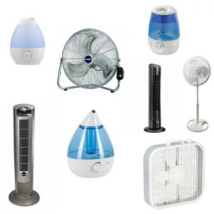 Fans and Humidifiers