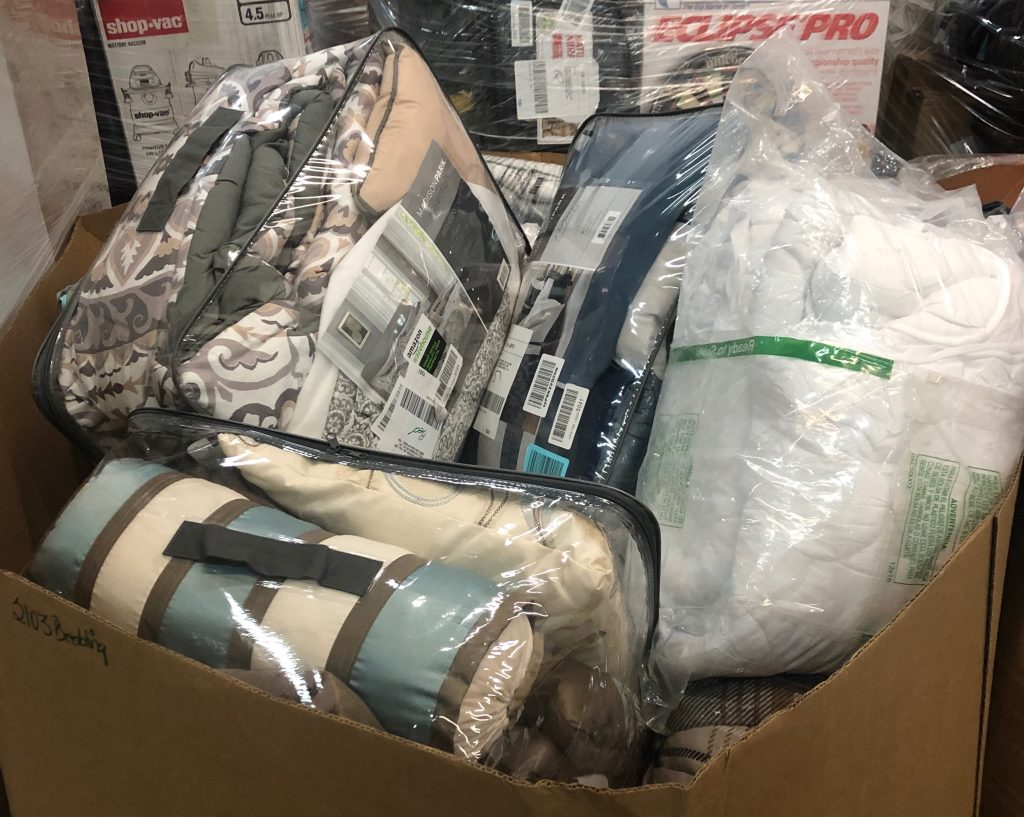 Bedding And Domestics Pallet Msrp 1 697 80 Discount